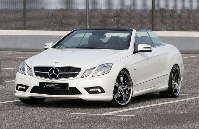 MEC Design прокачали дизельный Mercedes-Benz E350 CDI Cabriolet (12 фото)