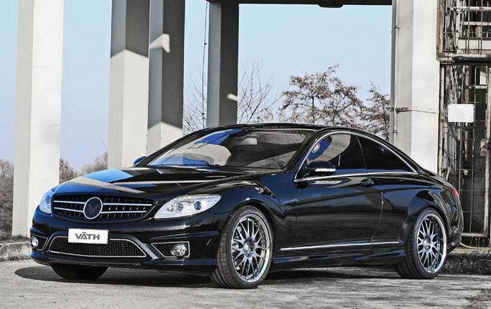 VATH Automobiltechnik затюнили Mercedes-Benz CL-класса в кузове С 216 (7 фото)