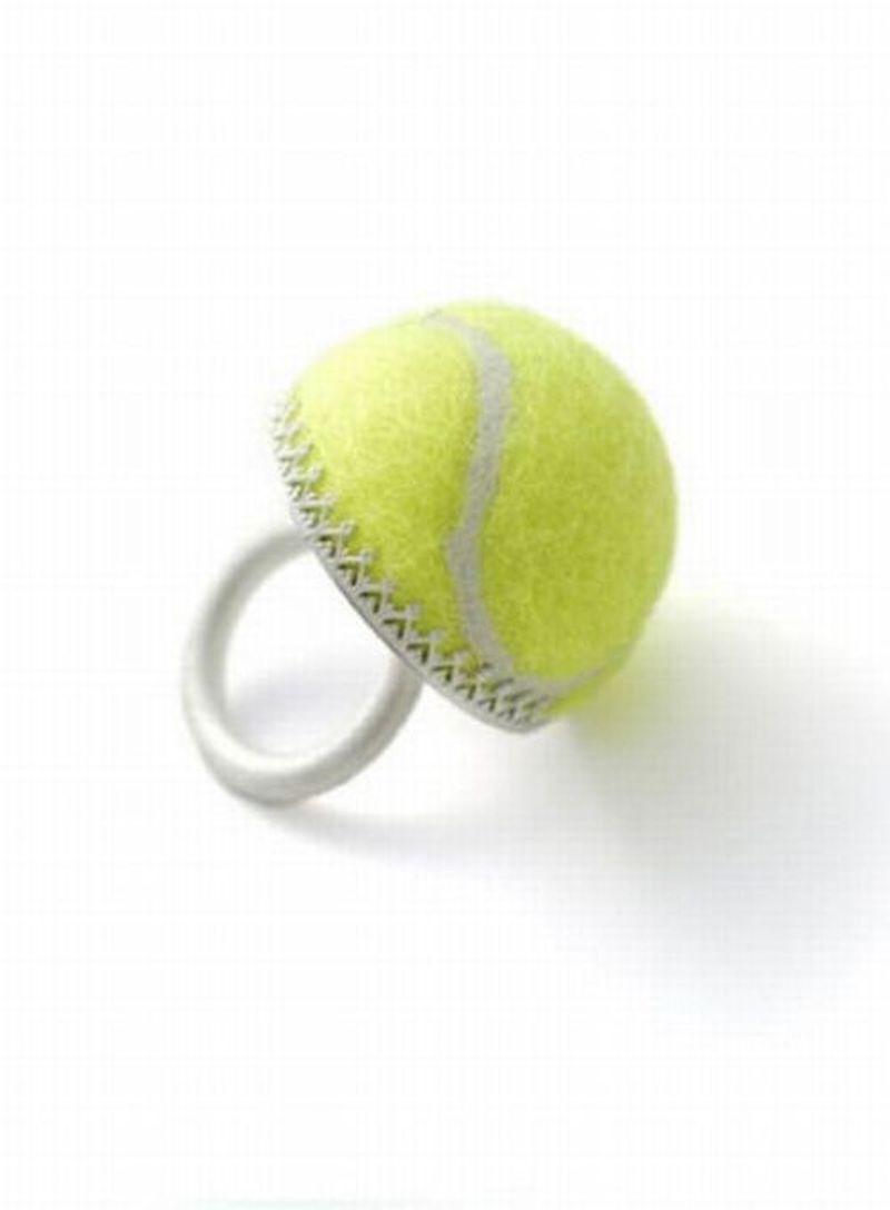 Поделки из теннисных мячей фото
