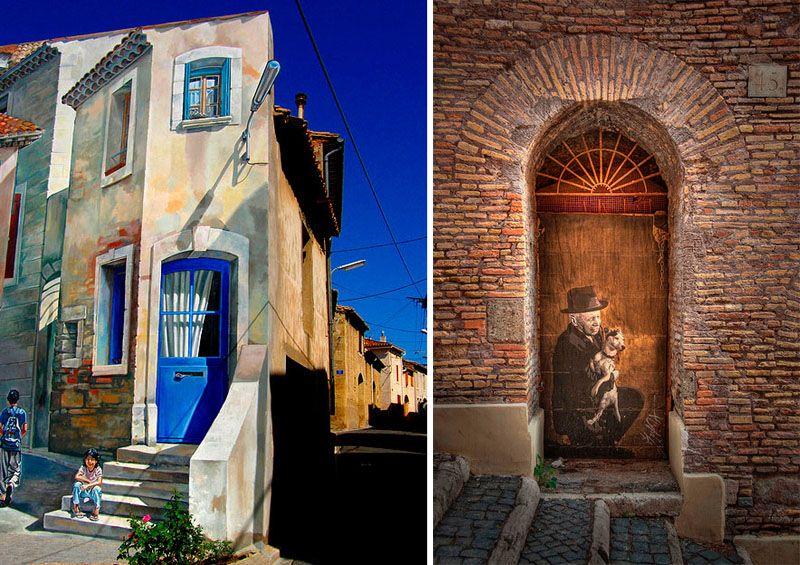 старая дверь в Риме