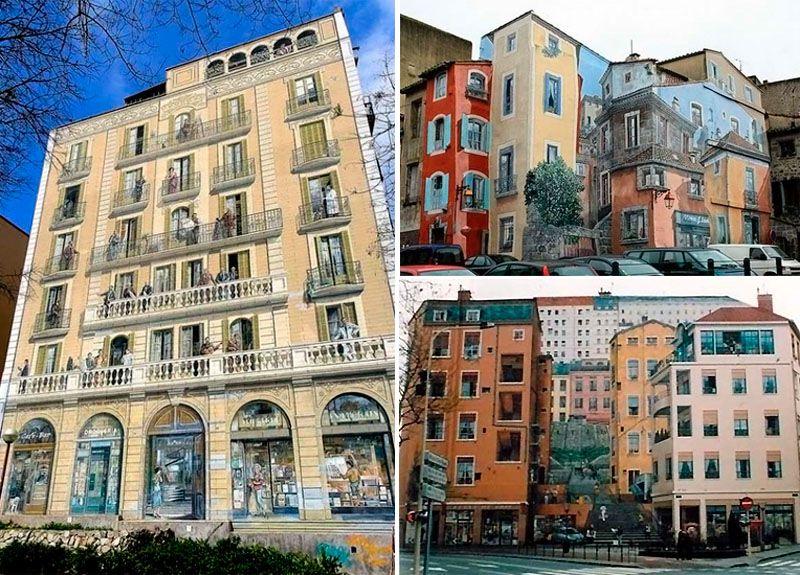 Декоративные балконы в Барселоне