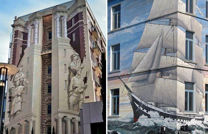 Парусное судно справа было определено в Брюсселе:
