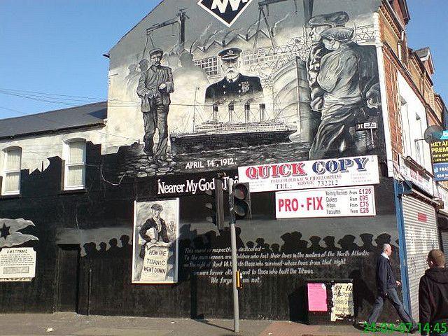 Белфаст, Ирландия: