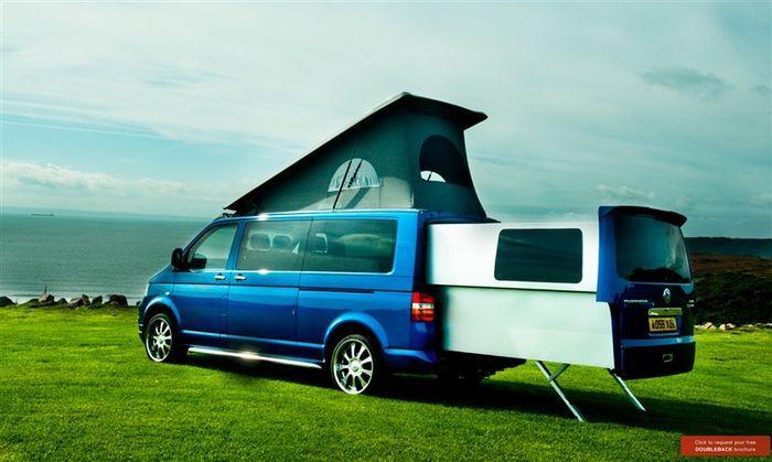 Компания Volkswagen презентовала новый дом на колесах (12 фото+видео)