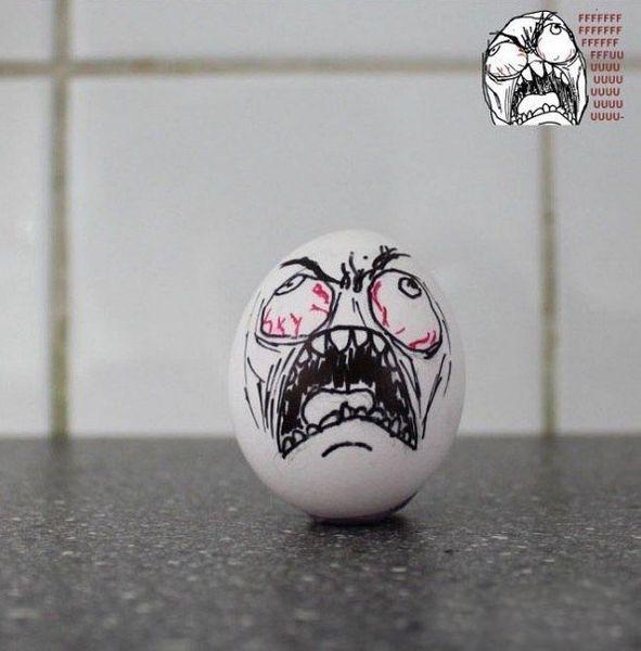 Современный способ разукрасить пасхальные яйца (6 фото)
