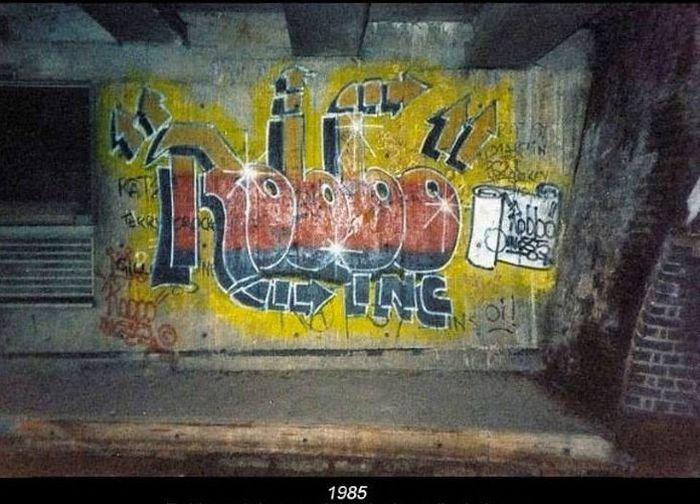 Битва художников граффити (12 фото)