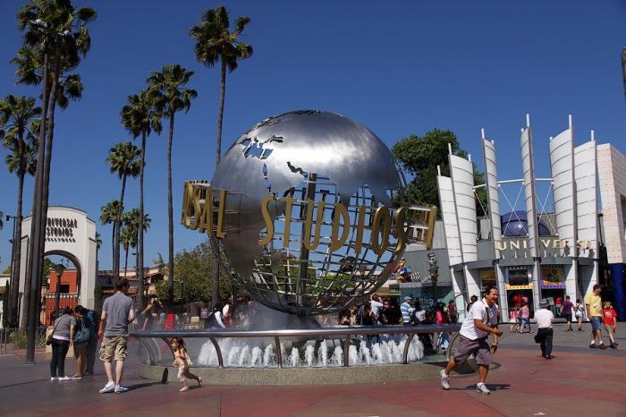 Universal Studios в Лос-Анджелесе (30 фото + 1 видео)