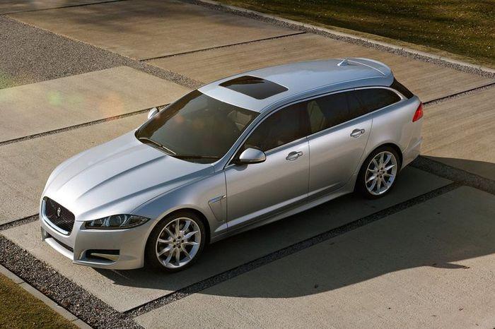Jaguar XF получил кузов универсал под именем Sportbrake (21 фото)
