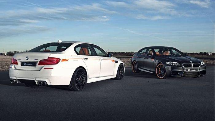 Ателье G-Power показало свой взгляд на BMW M5 F10 (5 фото)