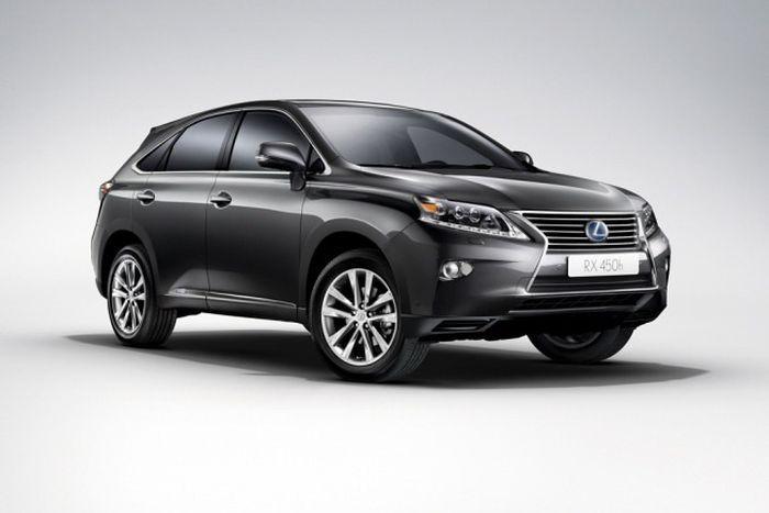 Компания Lexus показала первые снимки обновленной модели RX (25 фото)