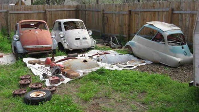Раритетные BMW Isetta продают на аукционе (6 фото)