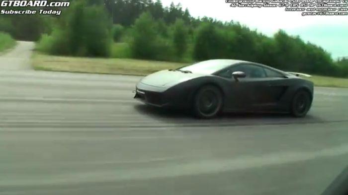 1500-сильный Lamborghini Gallardo из России против всех (4 видео)