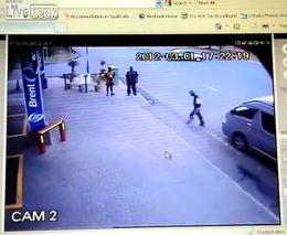 Наказал пешехода