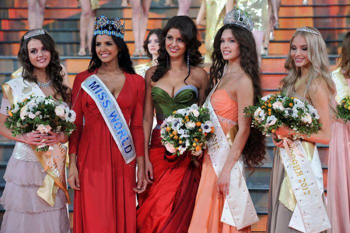 Смолянка победила в конкурсе Мисс Россия (72 фото)