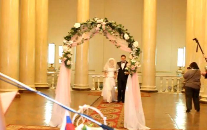 Такую свадьбу не забыть (видео)
