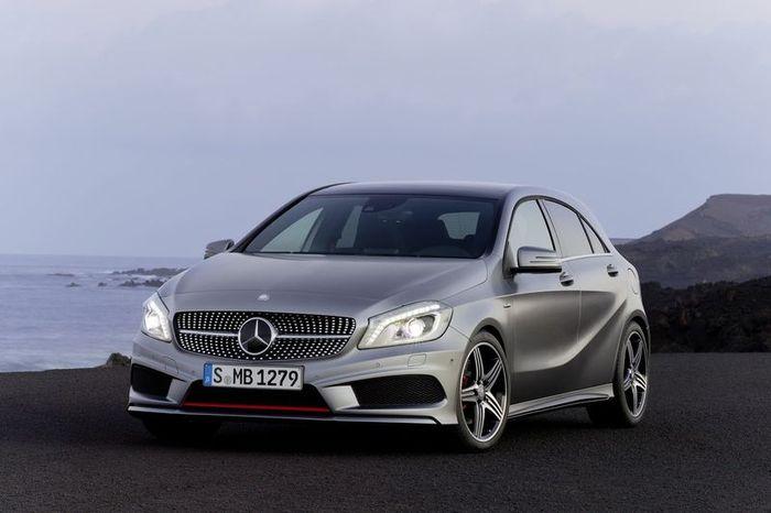 Компания Mercedes представила новый A-Class Concept (63 фото+2 видео)