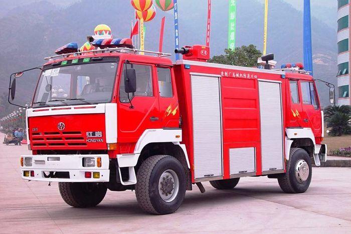 Пожарная экзотика - тоннельные тяни-толкаи (16 фото)