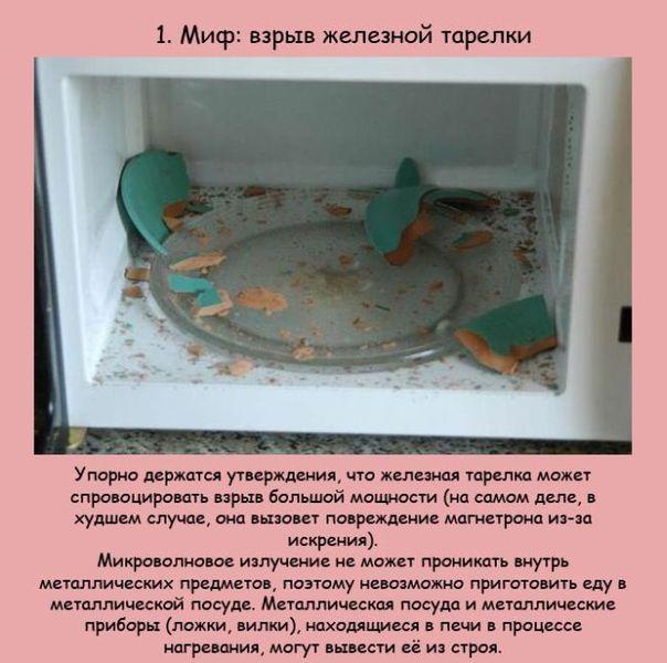 Мифы и факты о микроволновке (10 фото)