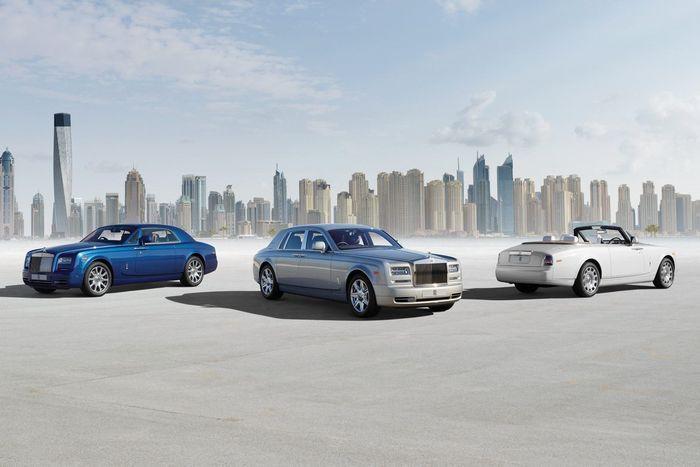 Rolls-Royce Phantom обновился во всех кузовах (61 фото)