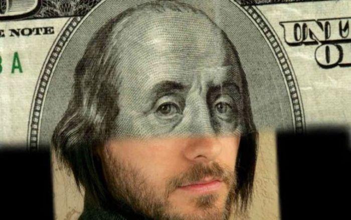 Как бы выглядели голливудские звезды на банкнотах (13 фото)