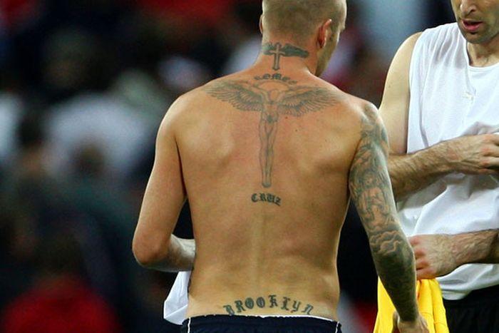 Татуировки знаменитых спортсменов (20 фото)