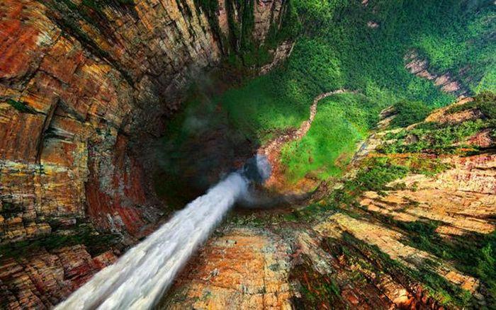 Angel Waterfall - самый высокий водопад в мире (12 фото)