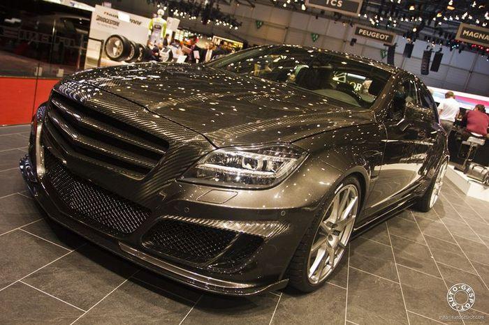 Карбоновый Mercedes-Benz CLS 63 AMG от Mansory (16 фото)