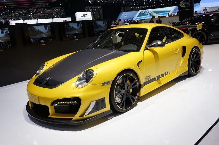 Новый Porsche 911 (991) от ателье TechArt показали на автосалоне в Женеве (10 фото)