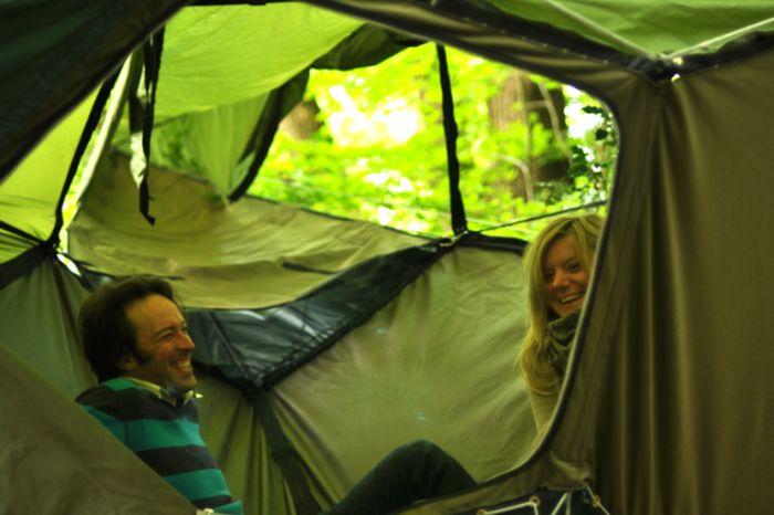 Оригинальная палатка (7 фото)