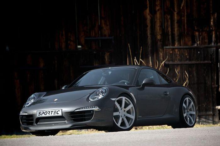 Porsche 911 (991) Carrera и Carrera S от тюнеров из Sportec (5 фото)