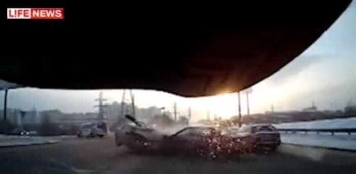Авария дня часть 495 (фото+видео)