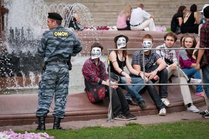 Приколы с полицейскими (59 фото)