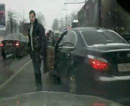 Быдло на BMW E60