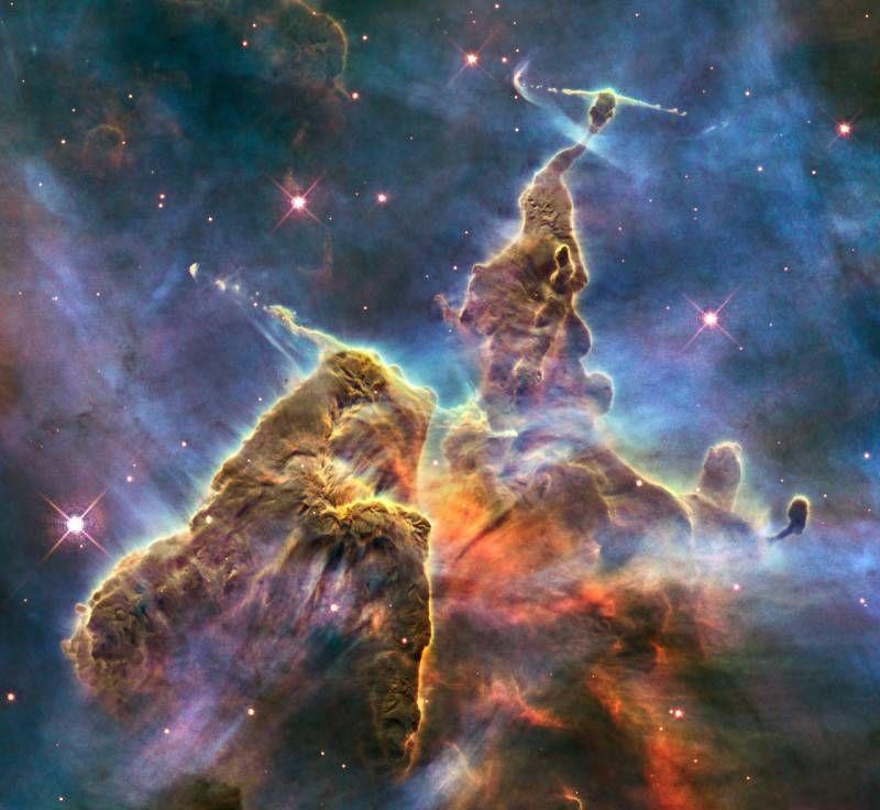 Путешествие по вселенной с телескопом Хаббл (17 фото)