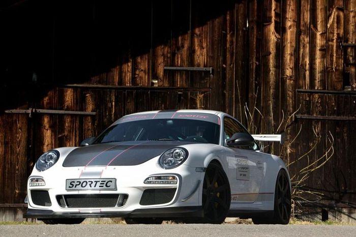 Porsche 911 (997) GT3 RS 4.0 подвергся тюнингу от Sportec (15 фото)