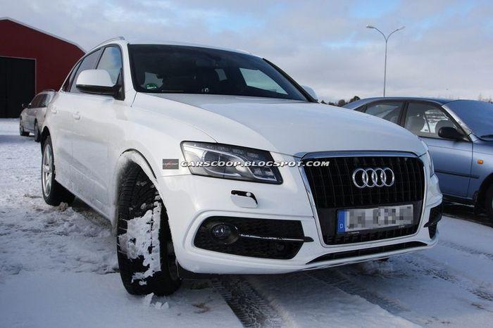 Обновленный Audi Q5 не сильно изменится от нынешней модели (7 фото)