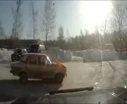ВАЗ 2106 самоликвидировался