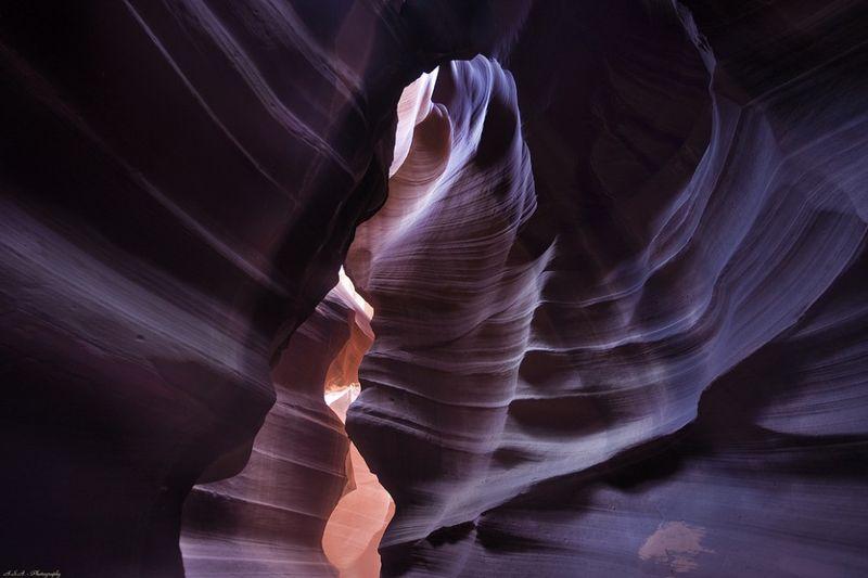 Неземная красота каньона Антилопы (25 фото)
