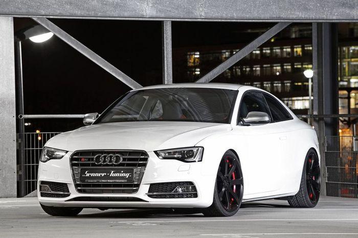 Новое купе Audi S5 в тюнинге от Senner Tuning (12фото)