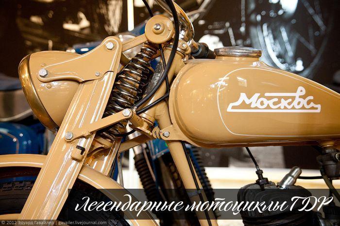 Легендарные мотоциклы ГДР (37 фото)