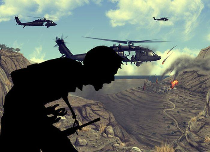 Страшные войны в красивых цифровых рисунках (81 фото)