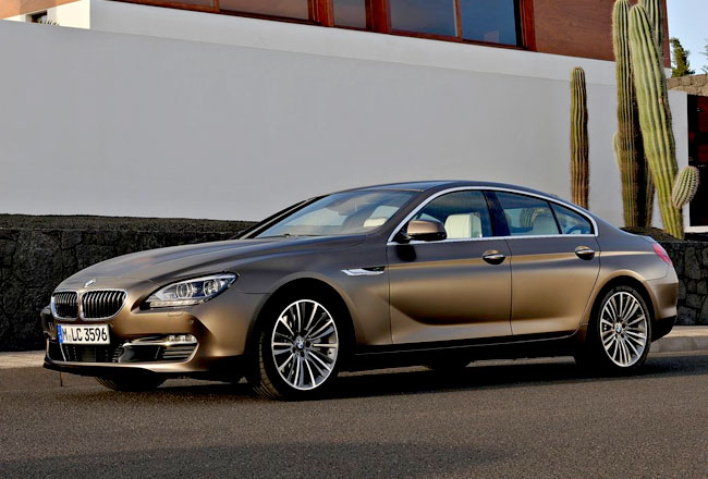 BMW назвала цены на 6-Series Gran Coupe и M6 Coupe (2 фото)