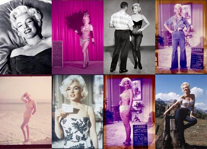 Неопубликованные ранее фотографии Мэрилин Монро выставлены на аукционе (28 фото)