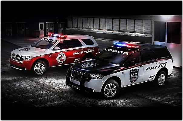Dodge Durango SUV для пожарных и полиции (5 фото)
