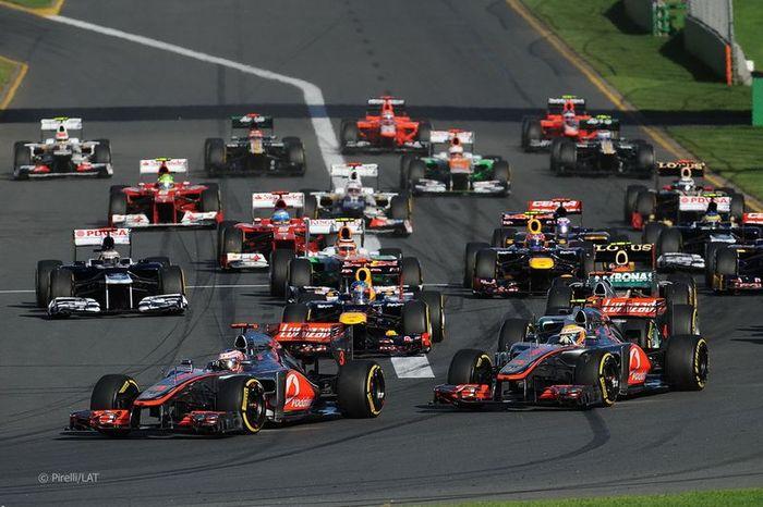 За кулисами Гран При Австралии 2012: фоторепортаж (67 фото)