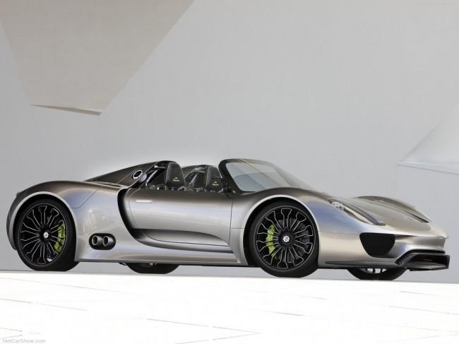 Новые подробности о будущем Porsche 918 Spyder (3 фото)