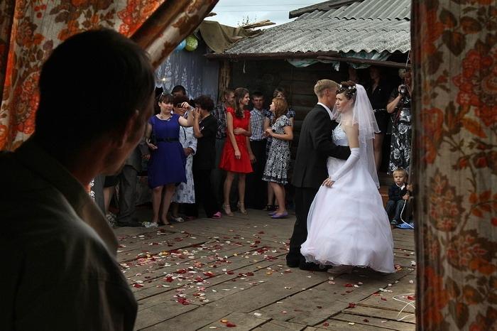 Свадьба без гламура (19 фото)