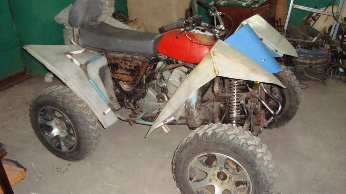 Квадроцикл из ИЖ Планета Спорт (43 фото)