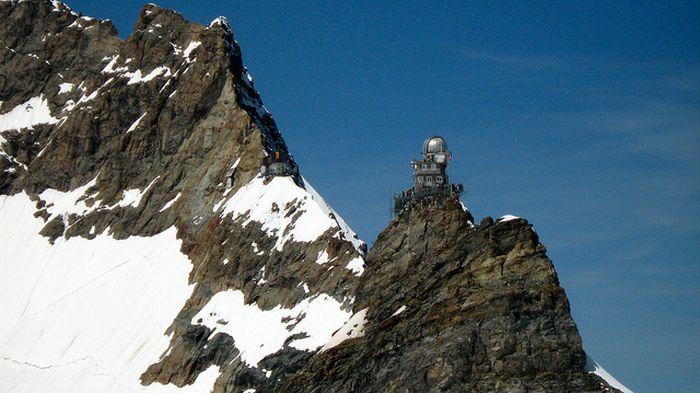 Обсерватория Сфинкс, Швейцария (10 фото)