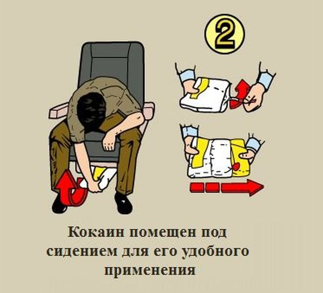 Правила поведения в самолете (2 фото)